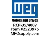 WEG RCP-35/400v RUN CAP 35 MICROFARADS AT 400v RUN CAP