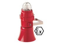 Pfannenberg 32074805000 BExCS 110-05D-B 24V DC RD ATEX Zone 1 and 2 explosive area use. Flash Light with 32 Tone 3-stag