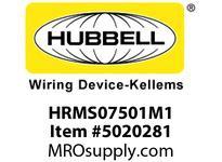 HBL_WDK HRMS07501M1 MINQCK FEM STR RCPT MET 7P 16/7 8