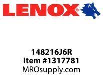 Lenox 148216J6R RECIPS-6J6R 6X3/4X050X6