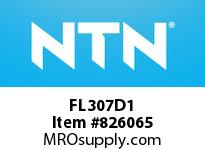 NTN FL307D1 Cast Housing