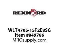 REXNORD WLT4705-15F2E8SG WLT4705-15 F2 T8P S3N1.25
