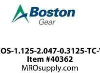 BOSTON 55478 XOS-18-32.75-5-V O/S 1-1/8X2.0472X5/16V