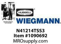 WIEGMANN N41214TSS3 STAINLESSSTEELQT3PT
