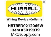 HBL_WDK HBTRED021206SW WBPRFRM RADI REDUCE2Hx12W TO 6WSTLWLL