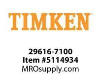 TIMKEN 29616-7100 Large Bore Seal
