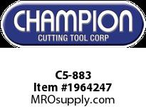 Champion C5-883 CARB TIPPED SQ NOSE TOOL