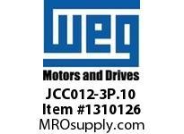 WEG JCC012-3P.10 3P 12A AND 1NO CON CWC AC COIL Contactors