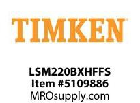 TIMKEN LSM220BXHFFS Split CRB Housed Unit Assembly
