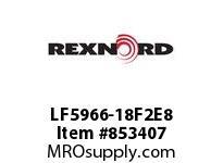 REXNORD LF5966-18F2E8 LF5966-18 F2 T8P LF5966 18 INCH WIDE MATTOP CHAIN WI