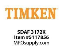 TIMKEN SDAF 3172K SRB Pillow Block Housing Only