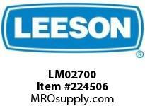 LM02700 56 Tefc 1Hp1800 200400000/360
