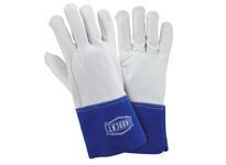 West Chester 6142/XL Goatskin MIG/TIG welding glove wing thumb 4^ cuff Kevlar sewn