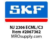 SKF-Bearing NJ 2306 ECML/C3