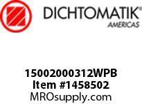 Dichtomatik 15002000312WPB WIPER
