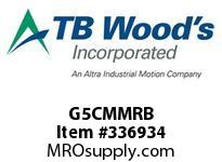 TBWOODS G5CMMRB 5CMMX2 1/2 RB GEAR HUB