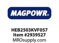MagPowr HEB2503KVF057 HEB-250 PNEUMATIC BRAKE