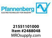 Pfannenberg 21551101000 PY X-M-10 230V AC CL RAL3000 Flashing Xenon Strobe Beacon adj. flash rate 10 Joules 187 - 255