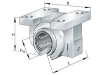 INA KGBAO1636PPAS Linear precision bearing unit