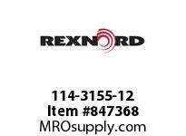 REXNORD 114-3155-12 ATCH WLT8500 F1
