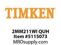 TIMKEN 2MM211WI QUH Ball P4S Super Precision