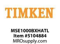 TIMKEN MSE1000BXHATL Split CRB Housed Unit Assembly