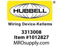 HBL-WDK 03313008 GRIP WSTRN ELEC 2.50-3.00 2 1/2 STL