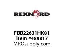 FBB22631HK81 FLANG BLK FB-B22631HK81 5898845