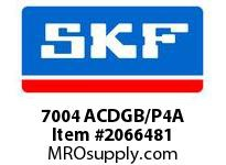 SKF-Bearing 7004 ACDGB/P4A