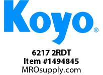 Koyo Bearing 6217 2RDT SINGLE ROW BALL BEARING