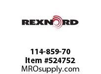 REXNORD 114-859-70 KU5996-14T 11661MM IDLER 142826
