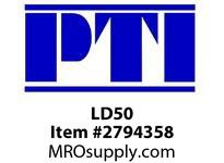 PTI LD50 SPLIT DOUBLE LIP SEAL B5- BEARING ACCESSORIES