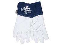 MCR 4850KXXL Gloves for Glory Premium Grain Goatskin MIG/TIG KEVLAR Liner Sewn w/KEVLAR 4.5 Split Cow Leather Cuff