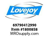 LoveJoy 69790412990 SXCS90-6 HUB RSB