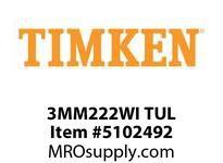 TIMKEN 3MM222WI TUL Ball P4S Super Precision