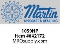 Martin Sprocket 1059HP BODYDOLLYHEELHIGH POLISH