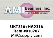 AMI UKT318+HA2318 3-3/16 HEAVY WIDE ADAPTER TAKE-UP BALL BEARING