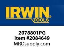 IRWIN 2078801PG GROOVELOCK PLANOGRAM