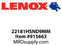 Lenox 22181HSND9MM NUT DRIVER-9MM HOLLOW SHAFT NUT DRIVER-9MM HOLLOW SHAFT NUT DRIVER- HOLLOW SHAFT NUT DRIVER-9MM HOLLOW SHAFT NUT DRIVER-