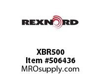 XBR500 FLANGE CARTRIDGE BLK W/HD 6801451