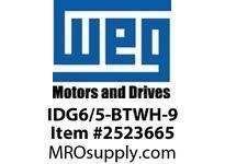 WEG IDG6/5-BTWH-9 TAG (9) HRZ MARK 6x5MM 40/PACK Terminals
