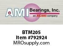 AMI BTM205 25MM NARROW SET SCREW MALLEABLE 3-B BALL BEARING