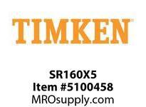 TIMKEN SR160X5 SRB Plummer Block Component