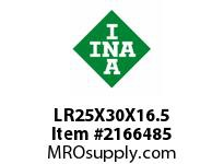INA LR25X30X16.5 Inner ring