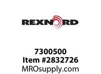 REXNORD  7300500 7300500 M1, MFR, SIZE ID 85MM, FFT. MODEL E-70