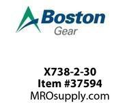 BOSTON 51080 X738-2-30 O/P WORM GEAR-DOUBLE