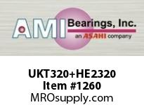 AMI UKT320+HE2320 3-1/2 HEAVY WIDE ADAPTER TAKE-UP