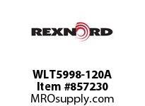 REXNORD WLT5998-120A WLT5998-120 NO SPKT PKTS