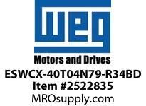 WEG ESWCX-40T04N79-R34BD XP FVNR 20HP/460 N79 460/120V Panels