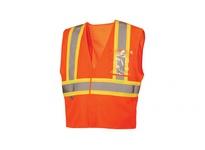 Pyramex RVHL2720BRX4 Hi-Vis Orange with 5 Point Break - Size 4X Large